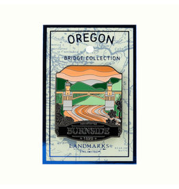 Landmarks Unlimited Burnside Bridge Collection Pin