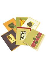 Singing Leaf Blank Original Leaf Card