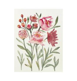 Maija Rebecca Hand Drawn Blossoming Greeting Card