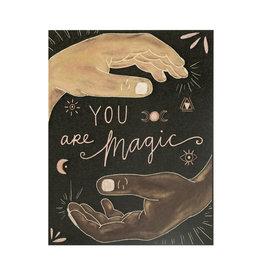 Maija Rebecca Hand Drawn You Are Magic Greeting Card