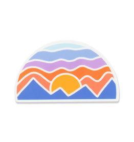 Pike Street Press Mosaic Mountain Sticker
