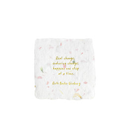 Oblation Papers & Press Ruth Bader Ginsburg Quote Floral Petite Wishes