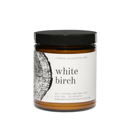 Broken Top Candle White Birch 9oz Soy Candle