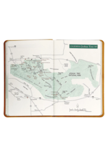 Graphic Image National Parks Atlas - Green Leather