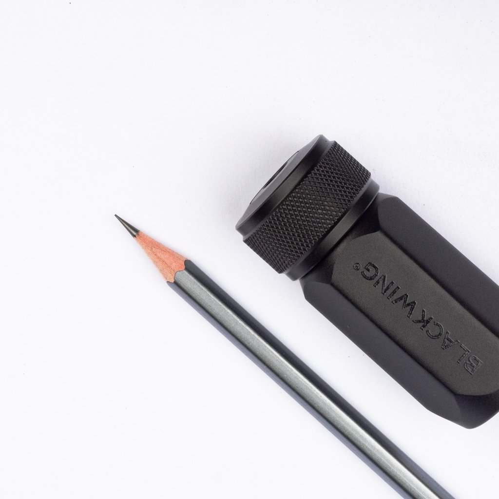 Blackwing Blackwing One Step Long Point Sharpener Black