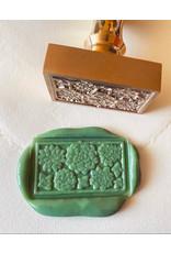 heypenman Succulents Rectangle Wax Seal Stamp