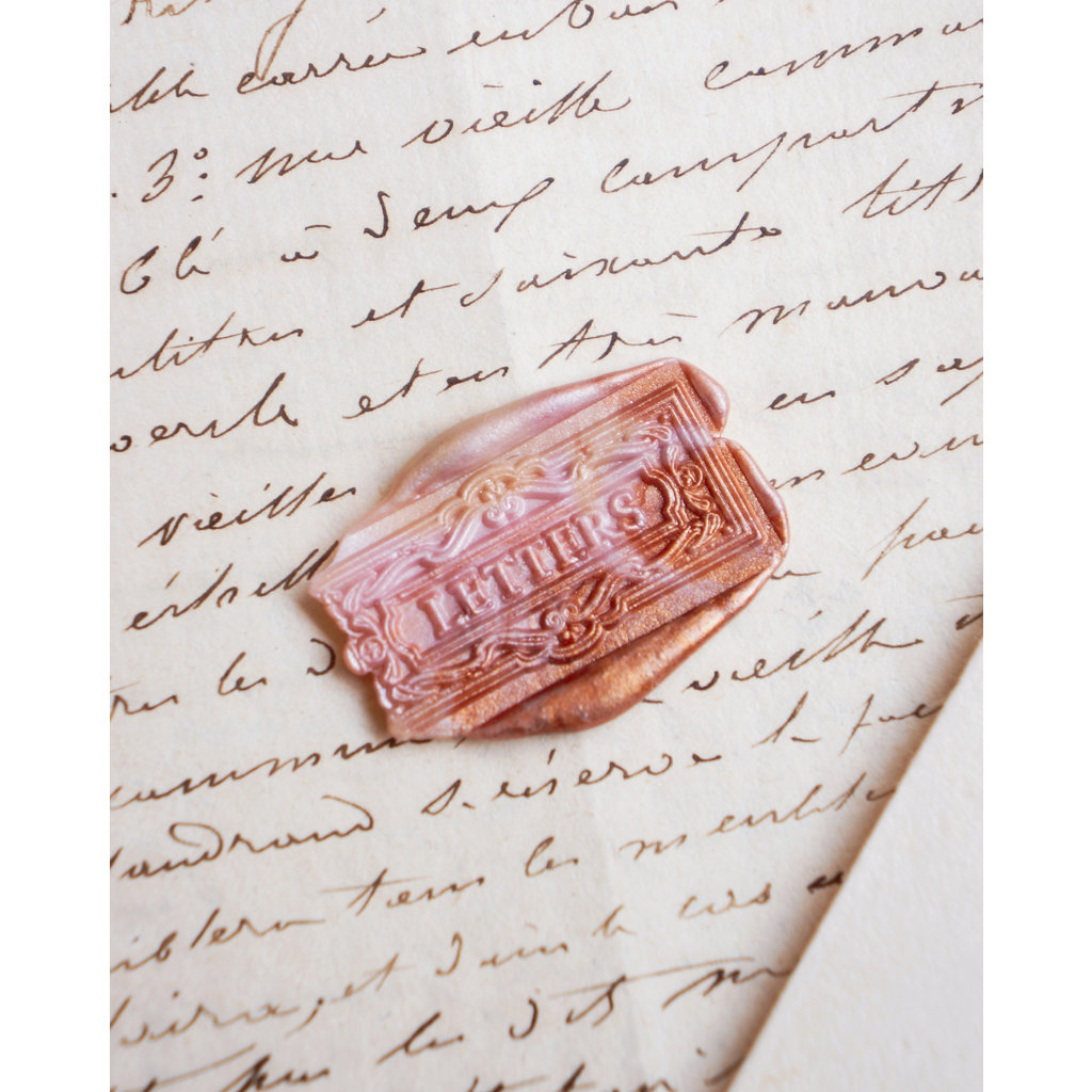 Mister Robinson Letter Slot Wax Seal