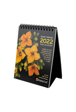 Singing Leaf Quiet Drama Easel Desk Calendar 2022