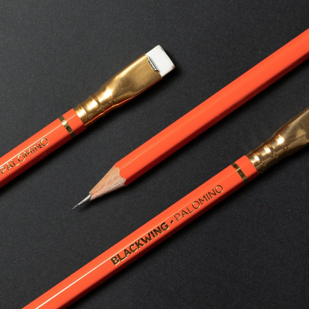 Blackwing Blackwing Orange Palomino (Extra Firm) Box of 12