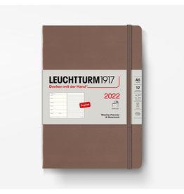 Leuchtturm Leuchtturm 2022 Weekly Planner + Notebook A5 Softcover - Warm Earth