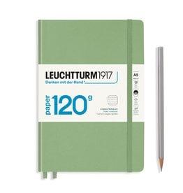 Leuchtturm Leuchtturm A5 Sage 120g Edition Hardcover Notebook Ruled