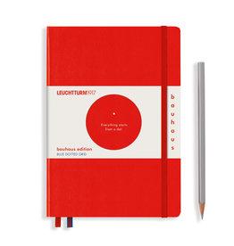 Leuchtturm A5 Red Bauhaus Special Edition Notebook Dot