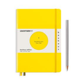 Leuchtturm A5 Lemon Bauhaus Special Edition Notebook Dot