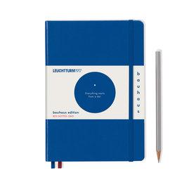 Leuchtturm Leuchtturm A5 Royal Blue Bauhaus Special Edition Notebook Dot