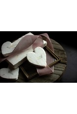 Oblation Papers & Press Love  foiled handmade petite heart in floral