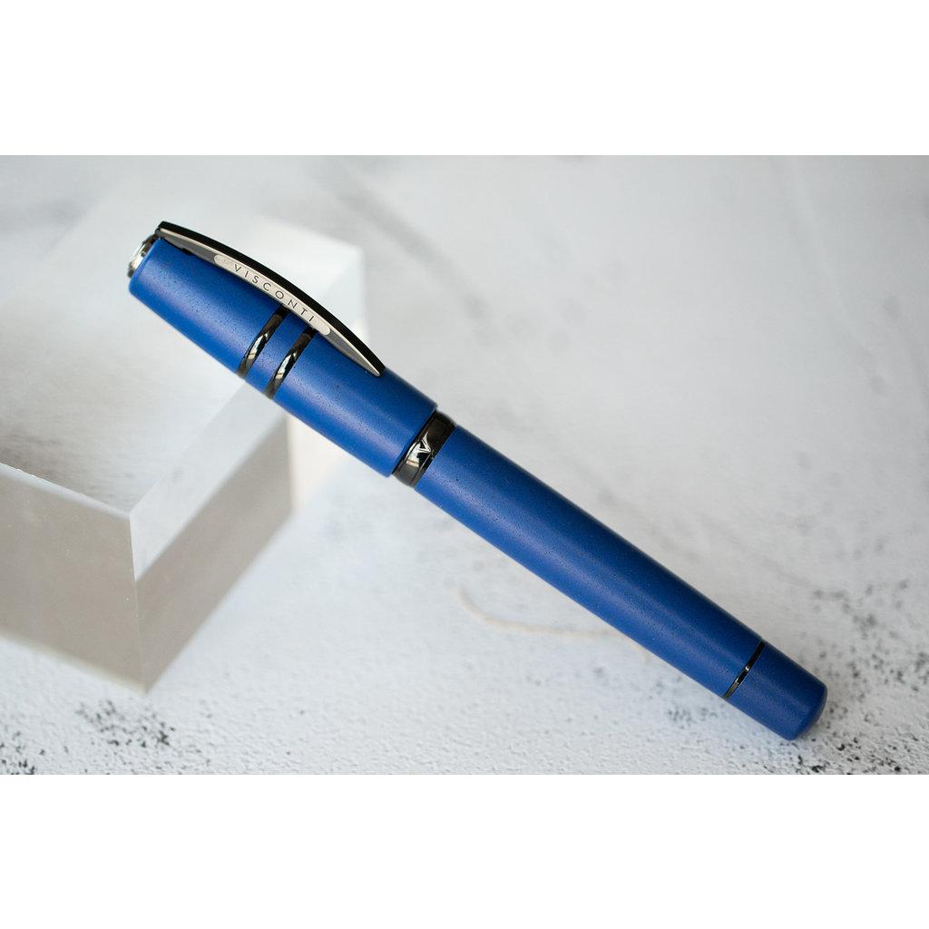 Visconti Visconti Homo Sapiens Lava Color Ultramarine Blue Fountain Pen Extra Fine