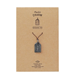 Traveler's Company Traveler's Factory Baggage Tag Charm