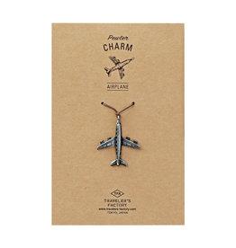 Traveler's Company Traveler's Factory Airplane Charm