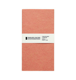 Traveler's Company Traveler's Factory Refill Pink Kraft Paper