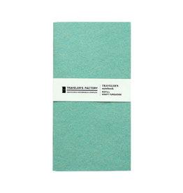 Traveler's Company Traveler's Factory Refill Turquoise Kraft Paper