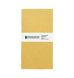 Traveler's Company Traveler's Factory Refill Yellow Kraft Paper