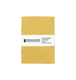 Traveler's Company Traveler's Factory Refill Yellow Kraft Paper Passport
