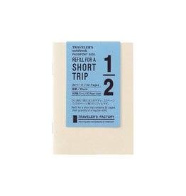 Traveler's Company Traveler's Factory Refill Passport Short Trip Cream
