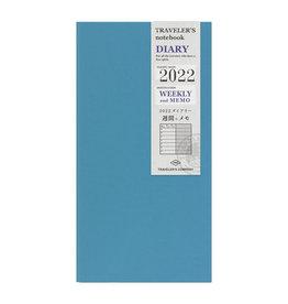 Traveler's Company [Preorder] Traveler's Notebook 2022 Refill Weekly + Memo