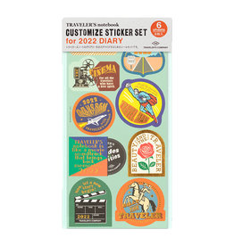Traveler's Company [preorder] Traveler's Notebook 2022 Customized Sticker Set
