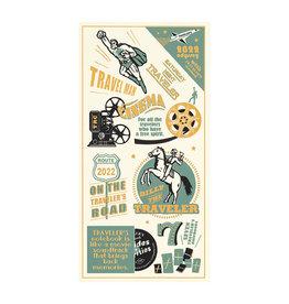 Traveler's Company Traveler's Notebook 2022 Plastic Sheet