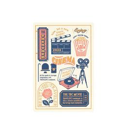 Traveler's Company Traveler's Notebook 2022 Passport Plastic Sheet