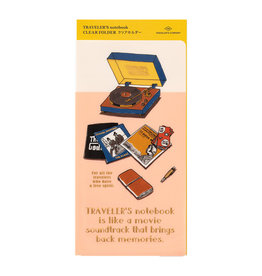 Traveler's Company Traveler's Notebook 2022 Clear Folder