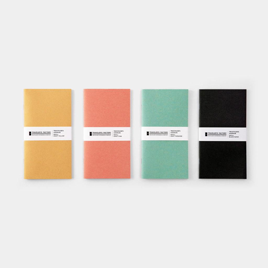 Traveler's Company Traveler's Factory Refill Black Paper
