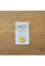 Traveler's Company Traveler's Factory Japan Trip Brass Tag