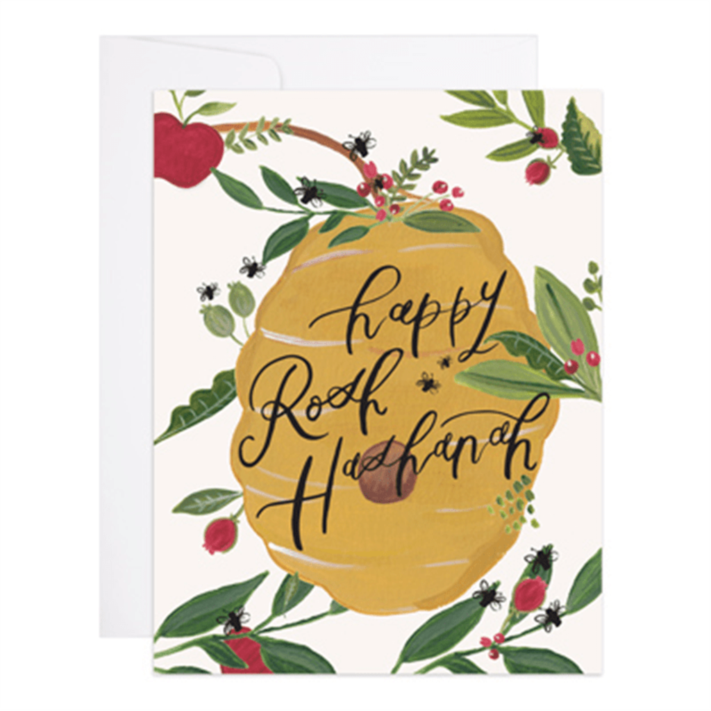 9th Letterpress Happy Rosh Hashana