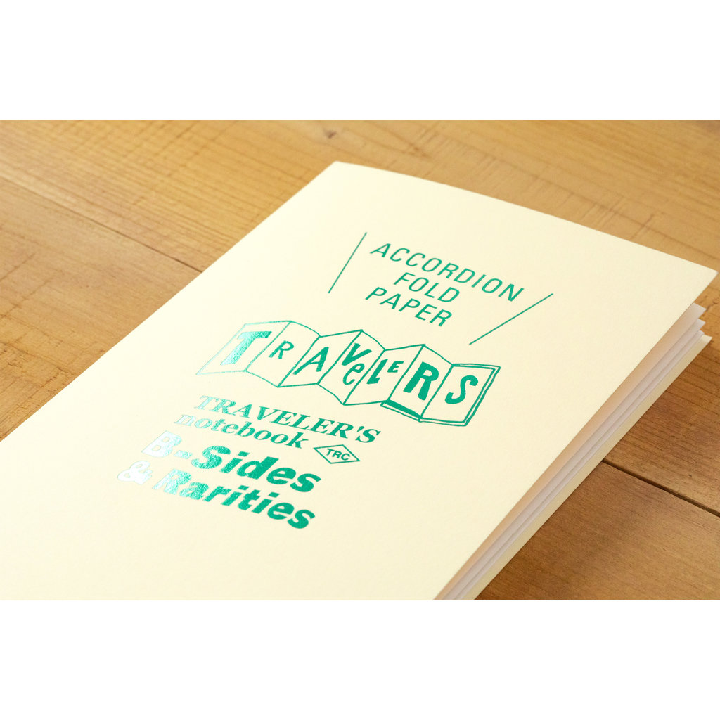 Traveler's Company Refill Accordion Fold Paper B-Side