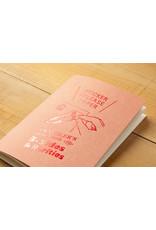 Traveler's Company Refill Sticker Release Paper Passsport B-Side