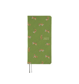 Hobonichi [sold out] Hobonichi Techo 2022 Weeks Bow & Tie: Forest Tiger