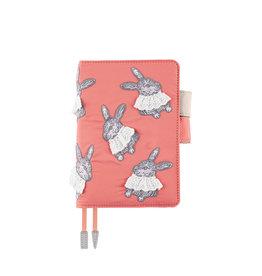 Hobonichi Hobonichi Techo 2022 A6 Sweet Bunny Pink