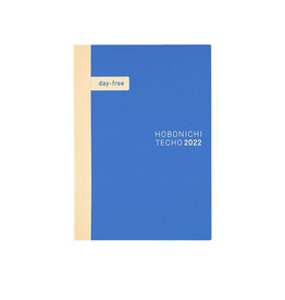 Hobonichi [sold out] Hobonichi Techo 2022 A5 Day-Free