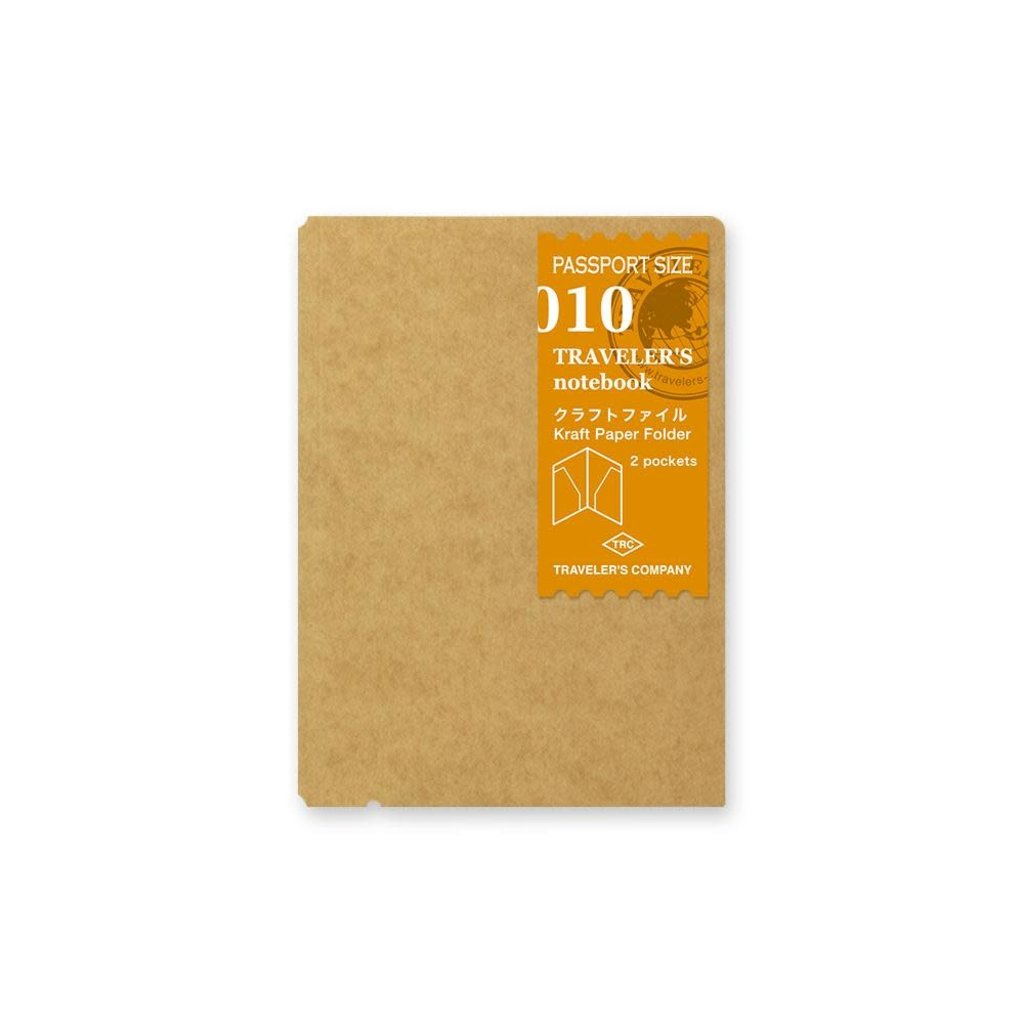 Traveler's Company traveler's company - kraft paper folder - passport 010