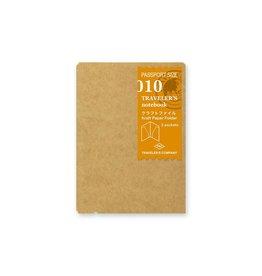 Traveler's Company Refill Kraft Paper Folder Passport 010