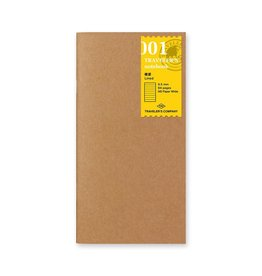 Traveler's Company Refill Lined Paper 001