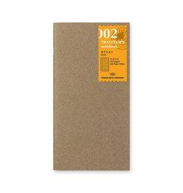 Traveler's Company Refill Grid Paper 002