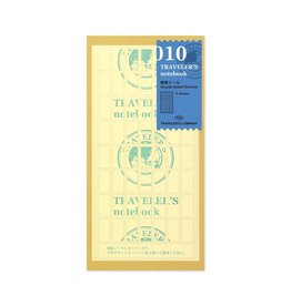 Traveler's Company Refill Double Sided Stickers 010