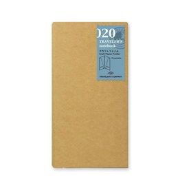 Traveler's Company Refill Kraft Paper Folder 020