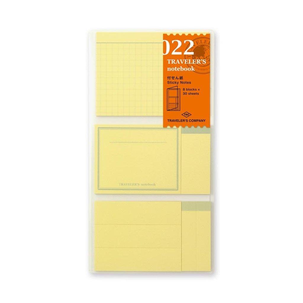 Traveler's Company traveler's company - sticky note refill - 022