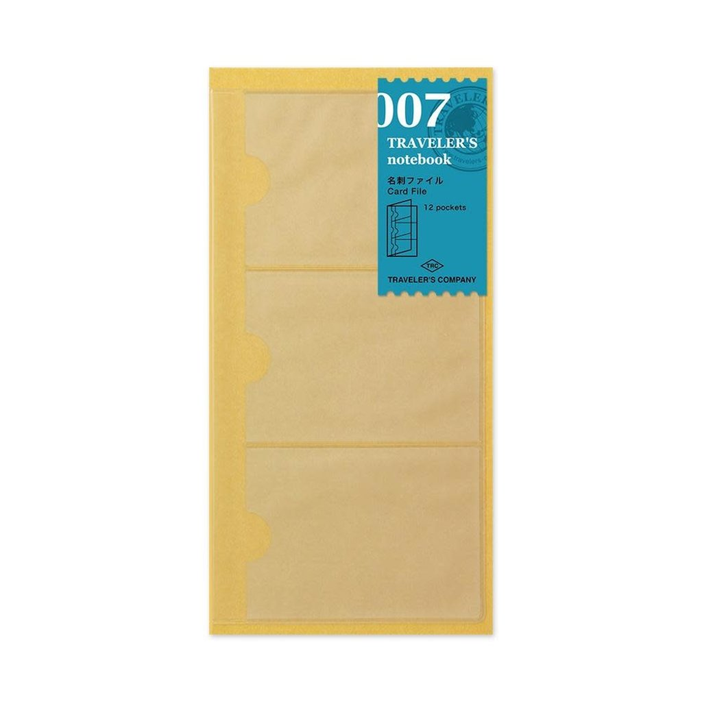 Traveler's Company traveler's company - card file refill - 007