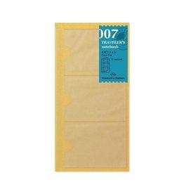 Traveler's Company Refill Card File 007