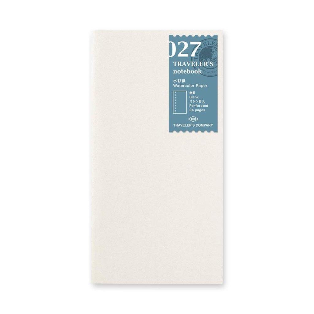 Traveler's Company Refill Watercolor Paper 027
